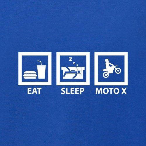 Eat Sleep Moto X - Herren T-Shirt - 13 Farben Royalblau