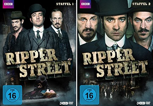 Ripper Street - Staffel 1+2 (6 DVDs)