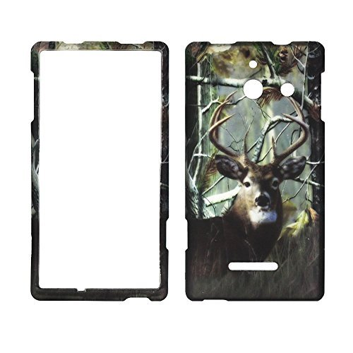 2d-camo-deer-kiefer-huawei-ascend-w1-h883g-gerade-talk-tracfone-prepaid-smartphone-schutzhulle-hard-