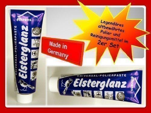 2-x-Elsterglanz-Universal-Polierpaste-Metall-Waschcreme-Reinigung-100ml624