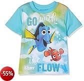 Finding Dory FDBY27105, T-Shirt Bambino, Blu (Turquoise), 6 anni