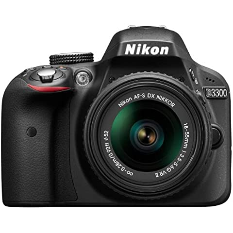 Nikon D3300 - Cámara réflex digital de 24.2 Mp (Pantalla 3