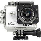 #5: SJCAM SJ5000X Elite 4K 24 fps Sony IMX078 Waterproof WiFi Action Helmet Camera White