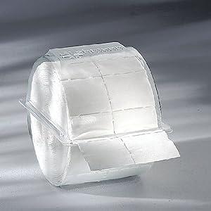 300x Zellstofftupfer Zelletten, Tupfer aus Zellstoff, 5×4 cm in Einwegbox Kosmetex