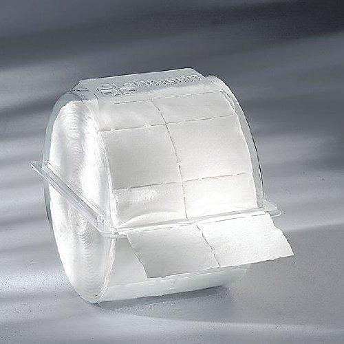 300x Zellstofftupfer Zelletten, Tupfer aus Zellstoff, 5x4 cm in Einwegbox Kosmetex -