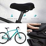 Soft Gel Bike Seat Cover, OMorc Bike Bicycle Seat Saddle...