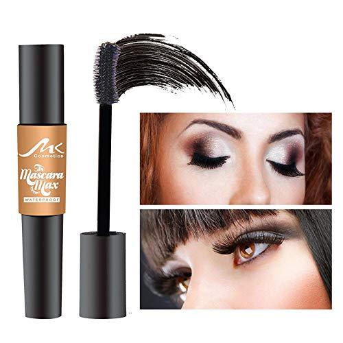 Cooljun MK Mascara Femmes Puissant Imperméable Long Curling Extension des Cils Maquillage Durable (A)