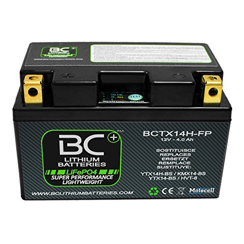 BC Lithium Batteries BCTX14H-FP Batteria Moto al Litio
