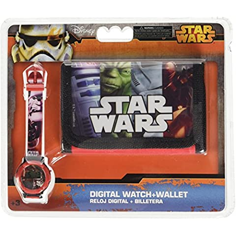 Star Wars - Set Reloj + Billetero