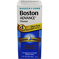 Boston Bausch & Lomb Advance Contact Lens Cleaner, 3 Count