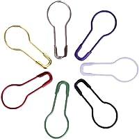 Épingles à nourrice en métal Everpert, 100 pièces, en forme de calebasse, marqueur de points de tricot, épingles de…