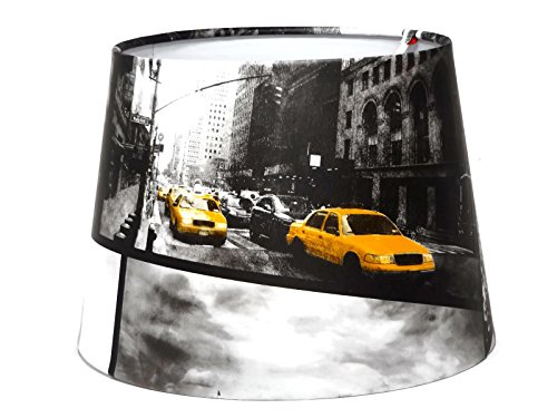 new-york-lampshade-light-shade-ceiling-pendant-shade-or-lamp-shade-yellow-taxi-cab-statue-of-liberty