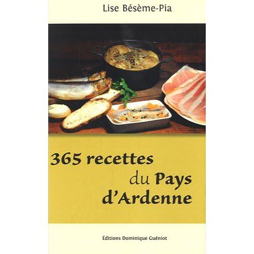 365 recettes du pays d'Ardenne