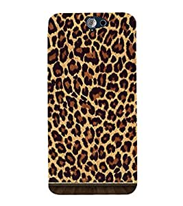 Cheetah Skin Pattern 3D Hard Polycarbonate Designer Back Case Cover for HTC One A9