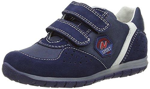 Naturino Naturino Isao Vl. Jungen Low-Top Blau (VELOUR/CORD./NAPPA NAVY-BIANCO)