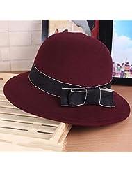 Mode Simple Automne Hiver Bowknot chapeau Topper (4 couleurs disponibles)