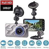 TechLife AUSEK Dual Dash Cam 1080P Full HD Front and Rear Camera