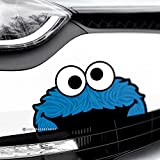 Best Bumper Stickers - COOKIE MONSTER Funny Peeper Car,Van,Bumper,Window JDM DUB Vinyl Review