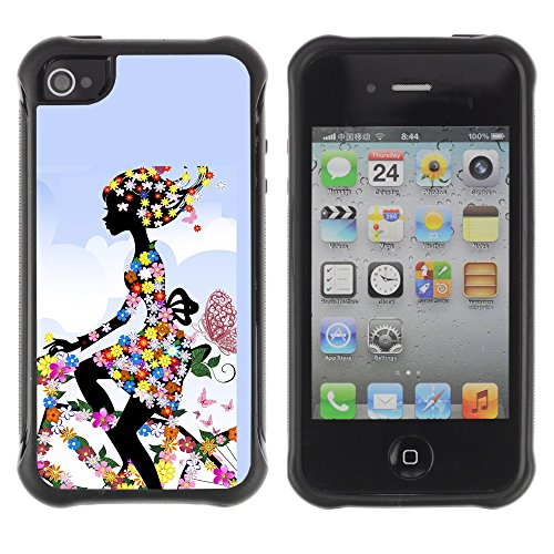 Graphic4You Carlino Guitar Art Case Design Harte Hülle Case Tasche Schutzhülle für Apple iPhone 4 und 4S Design #16