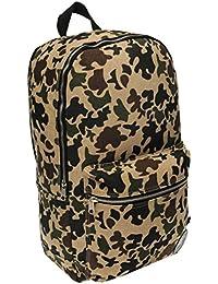 Converse à motif camouflage toile sac à dos vert/équipement Kahki Sac à dos Gymbag Sac résistant