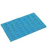 KYCD Bad Matte Bad WC Rutschfeste Matte Fußmatte Badewanne Nehmen Sie Eine Dusche Fuß Pad PVC Rutschfeste Teppich (größe : 51 * 51cm)