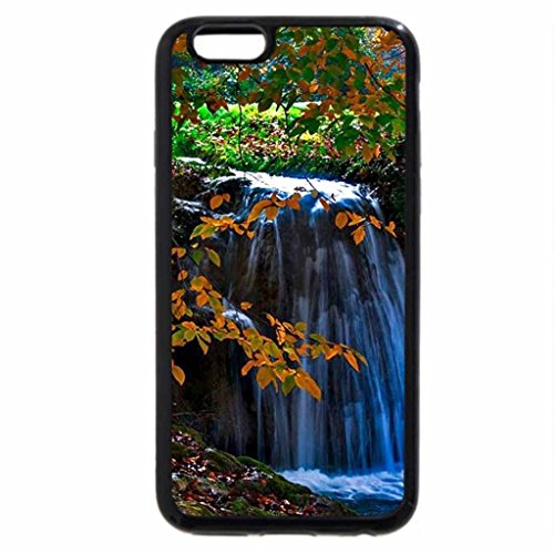 iPhone 6S / iPhone 6 Case (Black) Waterfall in the Fall