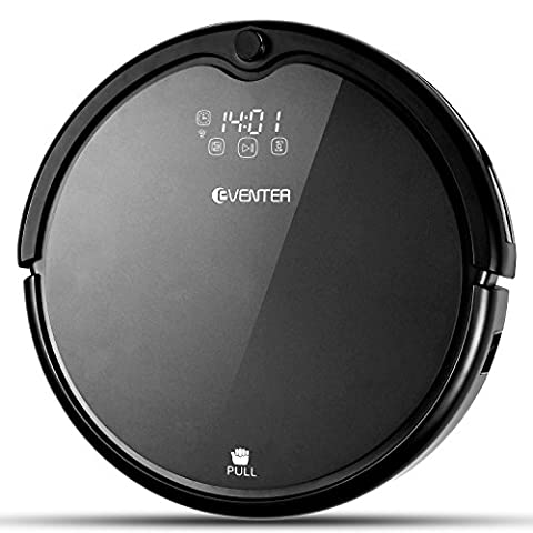 Eventer Robotic Vacuum Cleaner Sweeps, Mops with UV Light Sterilization