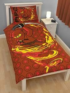 lego bettw sche fire in 140 x 200 48 x 74 k che haushalt. Black Bedroom Furniture Sets. Home Design Ideas