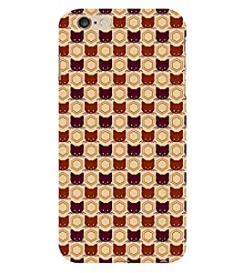 99Sublimation Animated Design Many Cat 3D Hard Polycarbonate Back Case Cover for Apple iPhone 6
