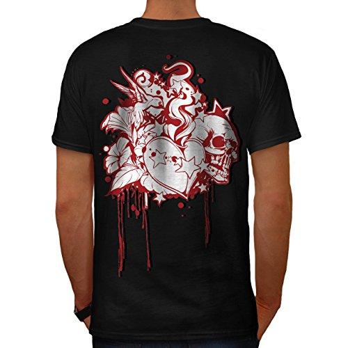 Tod Liebe Tot Valentine Herz Hass Herren S T-shirt Zurück | Wellcoda