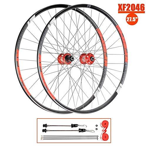 """LIMQ 27 5""""MTB-Rad Mountainbike Doppelwand-Laufradsatz Felge Leichtmetall-Laufrad Für 8-12-er Kassette 27 5 X 1 7-2 4"""" Reifen"""
