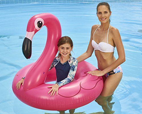 Jumbo Flamingo Pool Ring