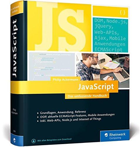 JavaScript: Das umfassende Handbuch Buch-Cover