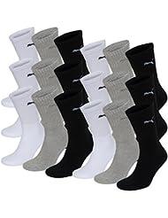 18 Paar Puma Sportsocken Tennis Socken Gr. 35 - 49 Unisex für sie und ihn