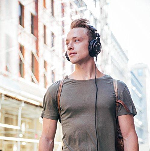 Audio Technica ATH-M50x DJ-Kopfhörer für Studio - 10