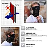 TRELC Breathable Cycling Face Mask, Windproof Neck Warmer...