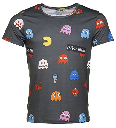 Men's Pac-Man Sublimation T Shirt - S to XXL