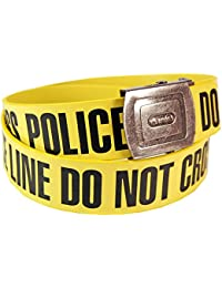 Police Line Belt. Cool Crime Scene Style Clothing Funky Retro Chic Gift For Him