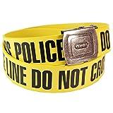 Pop-Art-Products Police Line Gürtel. Cool Crime Scene Stil Kleidung Funky Retro Chic Geschenk für ihn