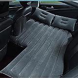 Luftmatratzen Auto-Luft-Bett-aufblasbare Matratze-Rücksitz-Kissen-Reise-kampierendes Im Freien Verlängerte Couch, Schwarz