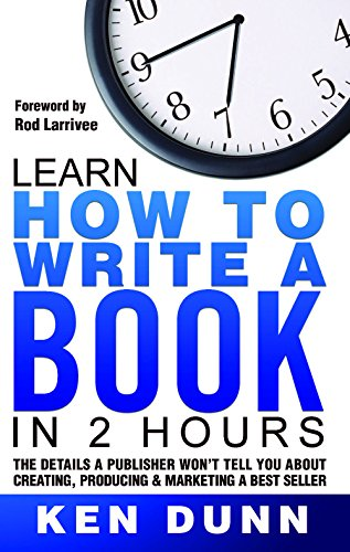 Learn How to Write a Book in 2 Hours