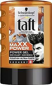 Taft - Gel Coiffant - Power Gel Maxx Power - Flacon 300 ml