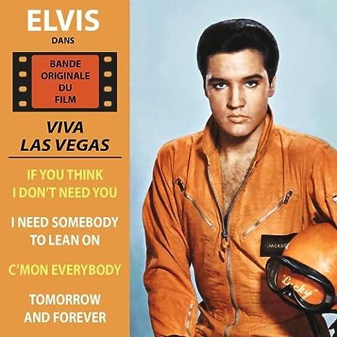 Viva Las Vegas (L'Amour en quatrième vitesse) - Bande Originale du Film - EP vinyl replica / BOF -