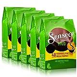 Senseo Kaffeepads Mild Roast, Feiner und Samtweicher Geschmack, Kaffee, neues Design, 5er Pack, 5 x 48 Pads