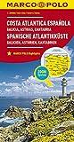 MARCO POLO Karte Spanien Spanische Atlantikküste 1:300.000: Galicien, Asturien, Kantabrien (MARCO POLO Karten 1:300.000) - Collectif