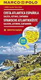 MARCO POLO Karte Spanien Spanische Atlantikküste 1:300.000: Galicien, Asturien, Kantabrien: Wegenkaart 1:300 000 (MARCO POLO Karten 1:300.000) - Collectif