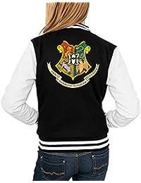 Hogwarts Shield College Vest Girls Black Certified Freak