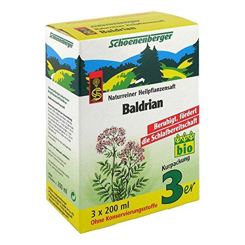 Schoenenberger Baldrian naturreiner Heilpflanzensaft, 3x200 ml Lösung