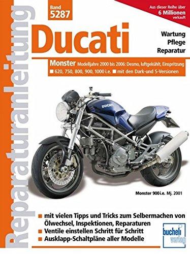 Preisvergleich Produktbild Ducati Monster ab 2000, Einspritzer, luftgekühlt (Reparaturanleitungen)