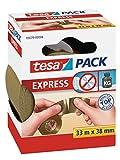 tesa Packband von Hand einreißbar, transparent, 33m x 38mm